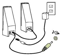 audio connectors netvista thinkcentre speaker connection diagram