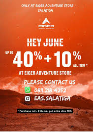 What hotels are near eiger store? Welcome To Eiger Adventure Store Salatiga