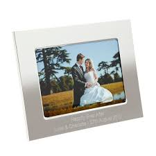 f10094 personalised silver photo frame 7 x 5