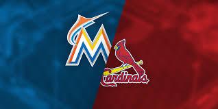 3 13 18 Miami Marlins Vs St Louis Cardinals Roger Dean