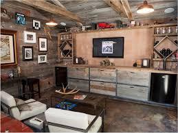 Rustic Basement Design Ideas Finished Style Nice Lifetime Ideas Marvelous Furniture New