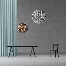 quasar lighting. elaine led pendant lamp with polished reflectors by daniel becker design studio berlin for quasar holland lighting