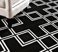 black and white geometric rug. black and white geometric runner rug