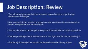 How To Write A Job Summary Simple How To Write A Great Job Description