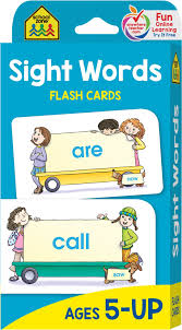 Download and print flash cards from the dolch, fry, and top 150 written words lists, or make your own custom sight words flash cards. School Zone Sight Words Flash Cards Ages 5 And Up Kindergarten To 1st Grade Phonics Beginning Reading Sight Reading Early Reading Words And More School Zone Joan Hoffman 0689752835650 Amazon Com Books