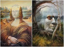 художников которые сломали нам глаза Двойное дно живописи Олега Шупляка