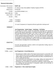 Software Engineer Resume Example Best Software Engineer Resume Best ...