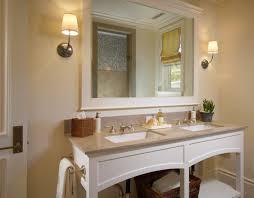 Diy Bathroom Mirror Frame Ideas White Chrome Curved Center Set