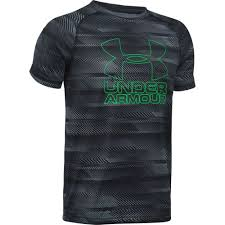under armour shirts for boys. under armour boys\u0027 printed hybrid t-shirt shirts for boys 8