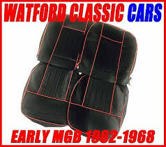 gt seat covers 1962 1968 black