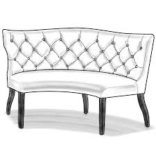 curved settee bench. Fine Settee And Curved Settee Bench B