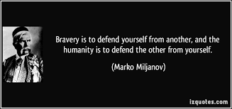 Quotes On Defending Yourself Best of 24 Defending Quotes 24 QuotePrism