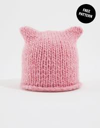 Pussyhat Project Pattern Extraordinary Free Katknits Hat Pattern By Wool And The Gang For The