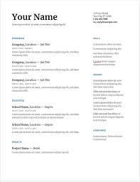 Resume Profile Reddit Resume Examples Resume Template