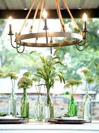 rustic outdoor candle chandelier outdoor candle chandelier non electric home design ideas