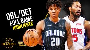 vs Detroit Pistons Full Game Highlights ...