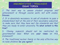 the argumentative persuasive essay there are main methods of  9 argumentative persuasive essay topics