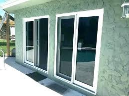 outdoor sliding doors post outside sliding door lock