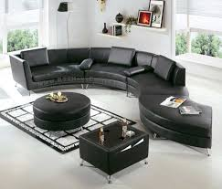 fortable modern furniture sofa with Affordable Modern Furniture with Black Color Design Made from Leather Material for Inspiration