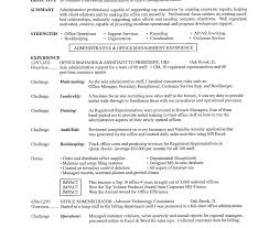 Sample Administrative Assistant Resume Resumes For Office Jobs Cover Letter Post Job Clerk Example 100