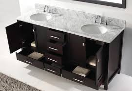bathroom vanity tops double sink. bathroom: virtu usa caroline avenue 72quot double sink bathroom vanity pertaining to elegant household tops