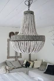 paper mache chandelier coup re en antler large size