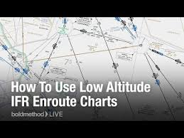 Real World How To Use Low Altitude Ifr Enroute Charts