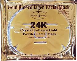 Luxurious 24k Gold Bio-collagen <b>Facial Mask</b> (<b>5pcs</b>) By Pro Natural ...