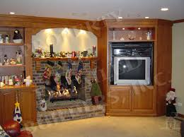 mantel lighting. custom built entertainment unit fireplace mantel builtin bookshelves and lighting a