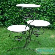 tall metal outdoor plant stands pk stand from furniture ou
