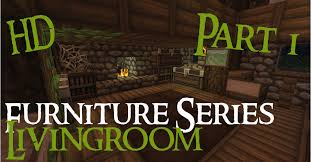 Minecraft Living Room Furniture Minecraft Medieval Furniture Series Part 1 The Livingroom Hd