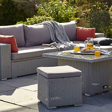 Outdoor sofa furniture White Garden Furniture Bq Garden Furniture Outdoor Garden
