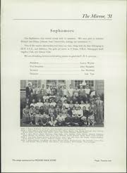 Fredericktown High School - Mirror Yearbook (Fredericktown, OH), Class of  1951, Page 25 of 88