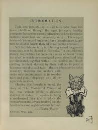 the wonderfully weird introduction to l frank baum s the the wonderful wizard of oz