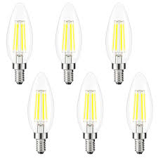 led chandelier light bulbs. Image Is Loading 6xEdison-Bulb-E12-LED-Chandelier-Bulb-Candle-Light- Led Chandelier Light Bulbs D