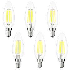 image is loading 6xedison bulb e12 led chandelier bulb candle light