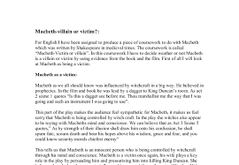 essay about evil macbeth essay about evil