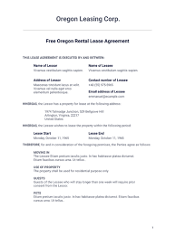 Permalink to Rental Lease Agreement Example : Free 8 Rental Lease Agreement Sample Forms In Ms Word Pdf : For example, a landlord can specify when they can legally enter the tenant's space, what house rules.
