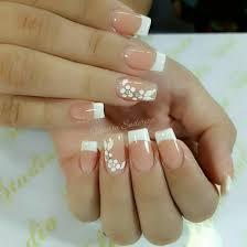 11:26 the nails queen uñas de acrílico french o punta blanca paso a paso / uñas punta blanca pra principiantes. Pin En Nail Art French