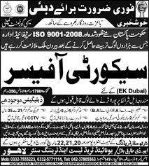 Security Officer Job Opportunities In Dubai