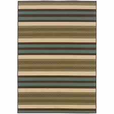 archer lane hallard green indoor outdoor area rug common 4 x 6