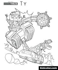 Coloring Pages Dinotrux Dozer Ryanbreauxco
