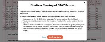 Scores Ssat