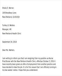 Free Letter Of Resignation Template Word Cover Letter Resign Letter Sample Word Format Home Decor