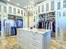 closets to go luxury walk in closet with chandelier in a high rise condo building in closets to go
