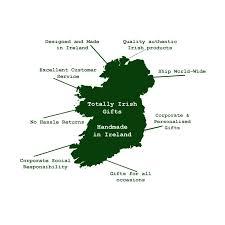 map of ireland irish gifts made in ireland