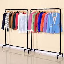 Apparel Display Stands Top Iron Clothing Rack Store Racks Display Shelf Throughout Ideas 23