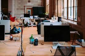 design an office. An Open Floor Plan Usuallly Means Lower Office Fit-out Costs, According To  A New JLL Report. Image: Pixabay Design An R