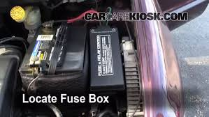 blown fuse check 1996 2000 chrysler grand voyager 2000 chrysler locate engine fuse box and remove cover
