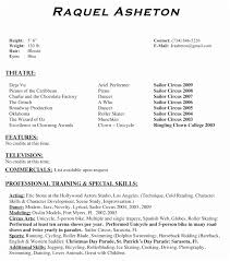 Theatre Resume Example Best Theater Resume Example Theatre Resume Template Ambfaizelismail